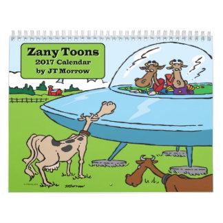 Zany Toons Calendar
