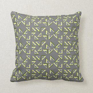 Zany Triangles Pillow