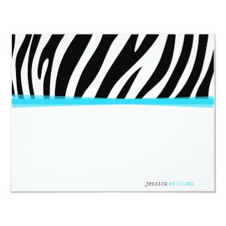 Zany Zebra Card