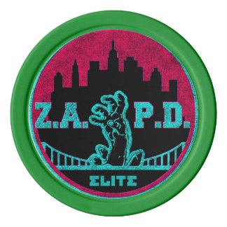 ZAPD POKER CIP SET OF POKER CHIPS