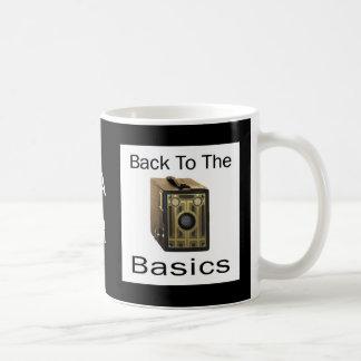 ZAZ424 Back to the Basics Classic White Coffee Mug