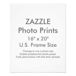 """Zazzle Custom 16"""" x 20"""" Photo Print  US Frame Size"""