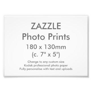 Zazzle Custom 180 x 130 mm Photo Print 18 x 13 cm