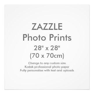 "Zazzle Custom 28"" x 28"" Photo Print Template"