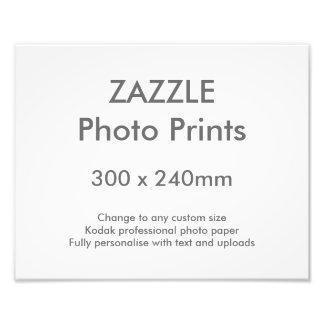 Zazzle Custom 300 x 240 mm 30 x 24 cm Photo Print