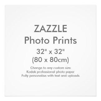 "Zazzle Custom 32"" x 32"" Photo Print Template"