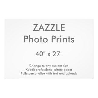 """Zazzle Custom 40"""" x 27"""" Photo Print 102 x 69 cm"""