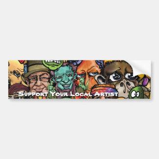 Zazzle mix copy, JG 2011_White, Support Your Lo... Bumper Sticker