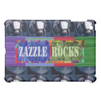 Zazzle Rocks Designs 2 iPad Mini Case