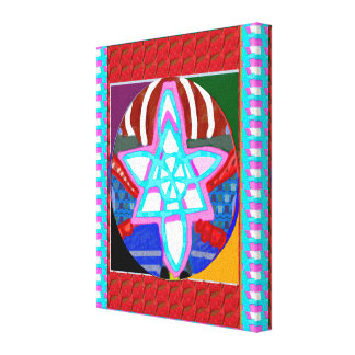 Zazzle Sale FineArt Reiki Masters Karuna Symbols Canvas Print