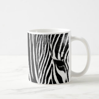 Zebra Basic White Mug