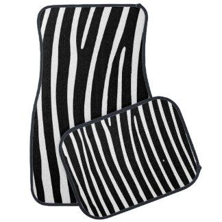 Zebra Car Mats Floor Mat