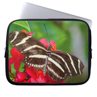 Zebra Longwing Butterfly Nature Photograph Laptop Sleeve