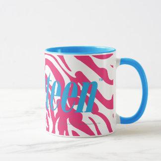 Zebra Magenta Mug