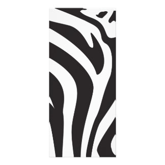 Zebra Print Custom Rack Cards