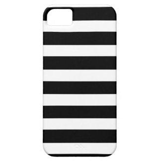 ZEBRA STRIPED a black white striped design iPhone 5 Cover