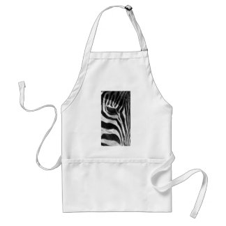 Zebra Stripes Standard Apron