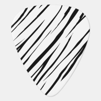 Zebra Stripes Standard Guitar Pick
