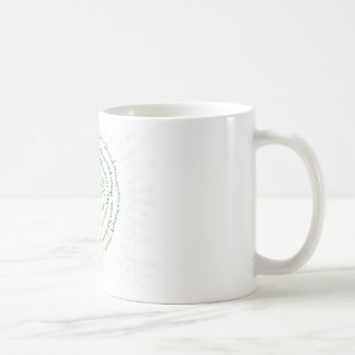 "Zen Art   ""Vibrate your Blessings"" Coffee Mug"
