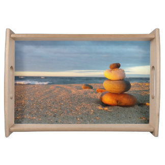 """ZEN At The Beach"" Serving Tray"