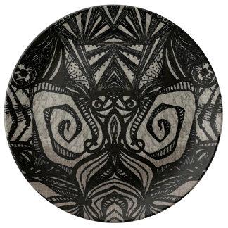 zen aztec plate