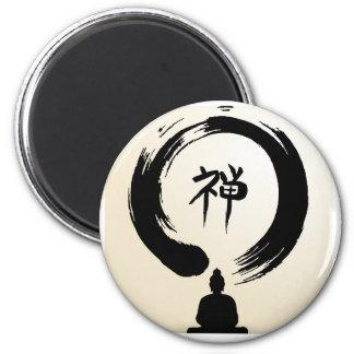 Zen Buddha magnet