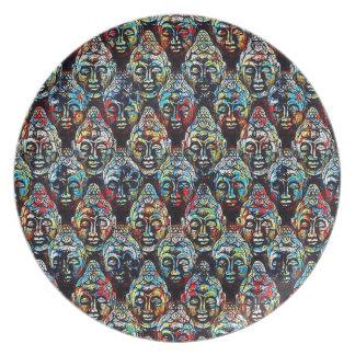 Zen Buddha Plate