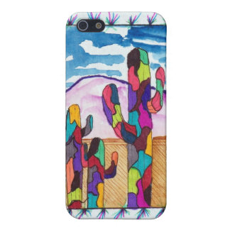 Zen Cactus Iphone Cover Case For iPhone 5/5S