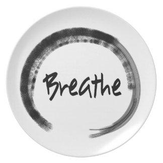Zen Circle - Decorative Plate - Unique Yoga Gifts