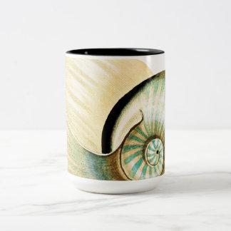 Zen Inspired Beach Theme Two-Tone Mug
