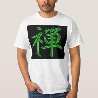 Zen Japanese Kanji Calligraphy Symbol T Shirts