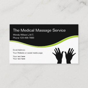 Zen Medical Massage Business Card