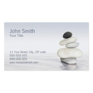 Zen Pebbles business card