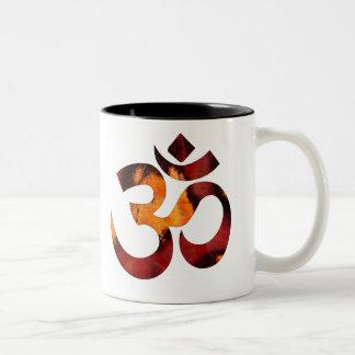 Zen-RojoNegro Two-Tone Coffee Mug