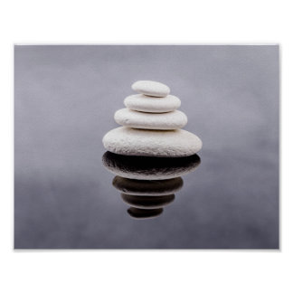 Zen Stones Beautiful Fine Art Poster