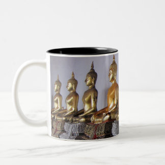 Zen sulks Thai Buddha's Two-Tone Coffee Mug