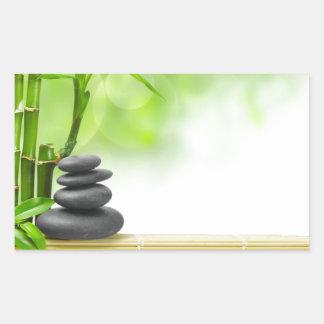 Zen tranquility water garden by healing love sticker