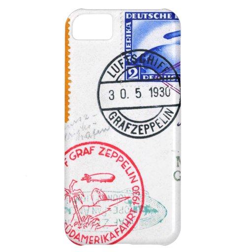 Zeppelin Adventure Travel Time iPhone 5C Cases
