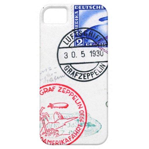 Zeppelin Adventure Travel Time iPhone 5 Case