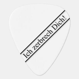 Zerbrecher Plek Guitar Pick