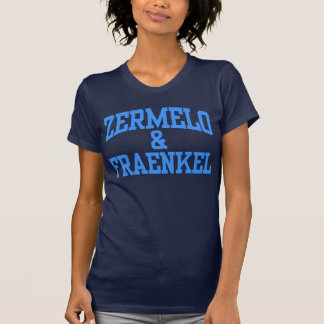 Zermelo & Fraenkel for women T Shirts