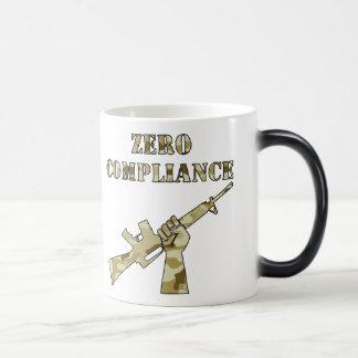 Zero Compliance AR15 Camo Magic Mug
