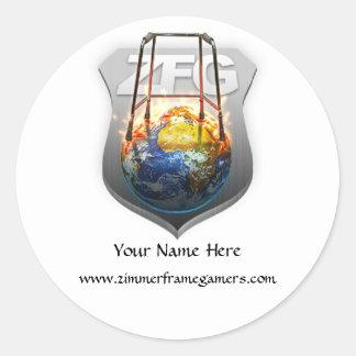 ZfG Clan Classic Round Sticker