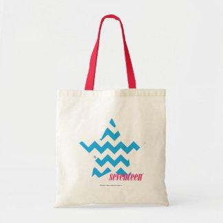 ZigZag Aqua 2 Tote Bag