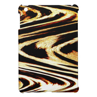 Zigzag of Tiger Chevron Popular Pattern Girly iPad Mini Covers
