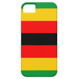zimbabwe country flag case green yellow red black