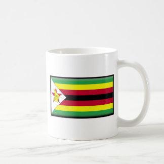 Zimbabwe Flag Coffee Mugs