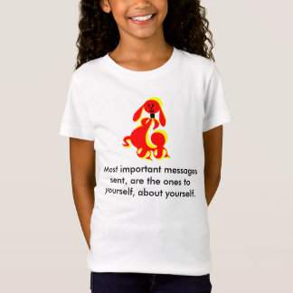 "ZIMKA Says ""Most Important Messages.."" T-Shirt"