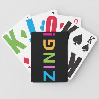 ZING ! BICYCLE PLAYING CARDS
