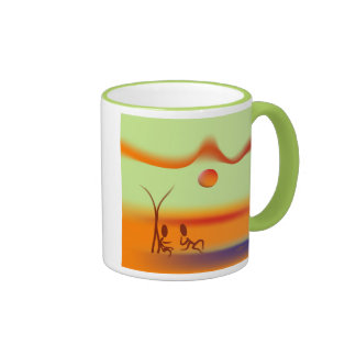 Zinglees ~ Chatting Mug